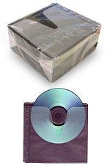 サンフェイス PPS-2PBK 5穴 両面収納不織布ケース 1パック100枚@2円