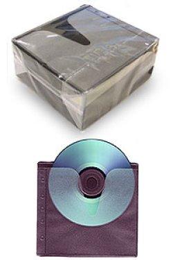 画像1: 2PBK 5穴 両面収納不織布ケース 1パック100枚