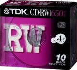 TDK CD-RW74X10S
