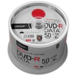 画像1: HIDISC(TYコード) TYDR47JNP50SPMG DVD-R16倍 1スピンドル50枚