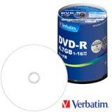 三菱化学メディア(Verbatim) DHR47JP100V4 DVD-R16倍 1スピンドル100枚@18.5円