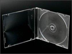 画像1: プラケ-ス 5mm半透明(1枚収納) 1ケ-ス200枚