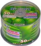 HIDISC CD-RW 650MB 50枚 繰り返し記録用 HD CDRW74 4X50P   1スピンドル50枚