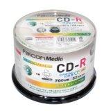 FalconMedia BE001 ダイヤモンドCD-R52倍 1スピンドル50枚