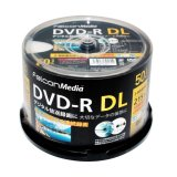 FalconMedia BE071 録画用(CPRM対応)DVD-R DL8倍 1スピンドル50枚