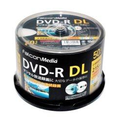 画像1: FalconMedia BE071 録画用(CPRM対応)DVD-R DL8倍 ★送料無料★ 1ケース300枚