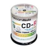 FalconMedia BE002 ダイヤモンドCD-R52倍 1スピンドル100枚