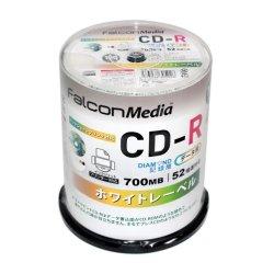 画像1: FalconMedia BE002 ダイヤモンドCD-R52倍 ★送料無料★ 1ケース600枚