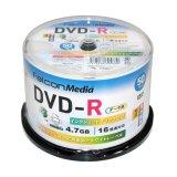 FalconMedia BE033  グロッシー(光沢写真画質)DVD-R16倍 1スピンドル50枚