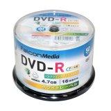 FalconMedia BE031 DVD-R16倍 1スピンドル50枚
