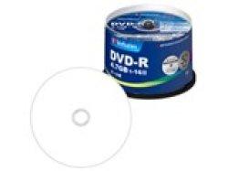 画像1: 三菱化学メディア(Verbatim) DHR47JP50V4 DVD-R16倍 1スピンドル50枚