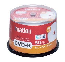 画像1: imation IM031  録画用(CPRM対応)DVD-R16倍 1スピンドル50枚