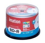imation IM085  録画用耐水・光沢写真画質(ウォーターシールド)BD-R6倍 1スピンドル50枚