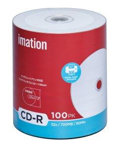 画像1: imation IMC52X  CD-R52倍 1ロール100枚