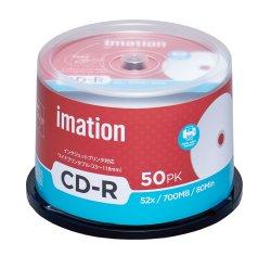 画像1: imation IM001  CD-R52倍 1スピンドル50枚