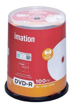 画像1: imation IM032  録画用(CPRM対応)DVD-R16倍 ★送料無料★ 1ケース600枚