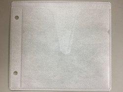 画像1: 2穴 厚手両面収納不織布ケース(Vカット) ★送料無料★ 大箱4000枚